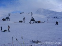 Arahova snow ski centre, Parnassos Mountain