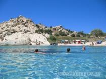 Amazing beach, Mikri Vigla in Naxos Island