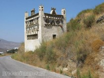 Pingeon coves in Tinos Island